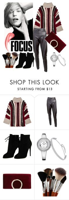 """""""Leather Pants"""" by josehline on Polyvore featuring Eleven Six, Tom Ford and Jessica McClintock"""
