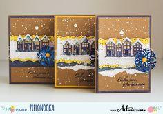 Heidi Swapp - Christmas cards - Zielonooka