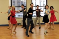 Watch what happens when a group of Broadway dancers tap to Anna Kendrick's percussive song.