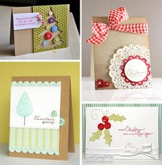 Cards- Personalize them for any occasion. Who doesn't like cards that you made yourself?!
