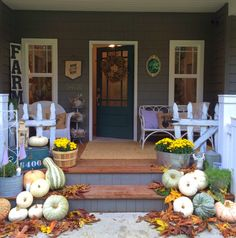 Little Farmstead: Our {Country} Fall Porch