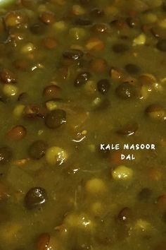 Masoor dal also known as whole red lentil, is a kind of dal widely eaten in India and other parts of South Asia. Masoor dal is relatively quick-cooking among the different types of dal. Masoor Dal, Indian Food Recipes, Healthy Recipes, Homemade Recipe, Curries, Lentils, Vegan Food, Kale, Asia