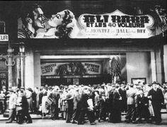 Cinéma Churchill Boulevard Adolphe Max - Adolphe Maxlaan 1946
