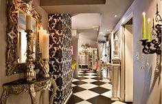 eclectic glam interior. Perfection!!! Love everything about this!