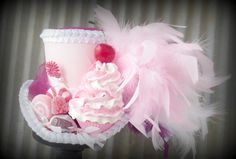 red queen tea party hats | Candy Themed Mini Top Hat, Mad Tea Party Mini Top Hat, Mad Hatter Hat ...