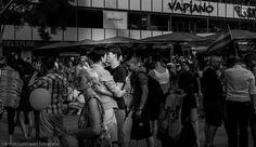 Love For All (a demonstration for homosexuality in Berlin)  #b/w #w/b #street #streetphotography #people&street #monochrome #negro #noir #city #berlin #black&white #urban #demonstration #homosexuality