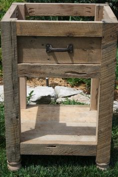 YOUR Custom Rustic Barn Wood Vanity or Cabinet by timelessjourney, $250.00