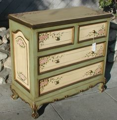 Image detail for -Furniture: a site where you can find Hand Painted Spanish period ...
