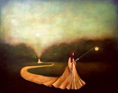 Duy Huynh                          Vietnamese born artist Duy Huynh's poetic and contemplative acrylic paintings symbolically depict geogra...