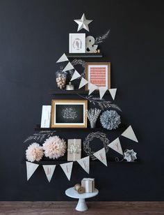 壁に飾るクリスマスツリーデコレーション10選 SUVACO(スバコ)