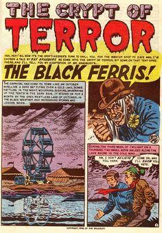 Ray Bradbury: 1950s comics' illustrated man - Salon.com