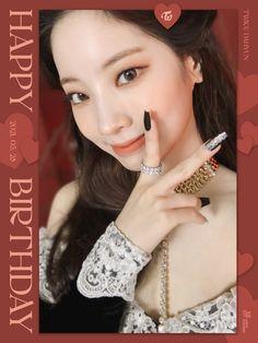 Nayeon, Happy Birthday My Love, Sana Momo, Twice Dahyun, Korean Girl Groups, Mini Albums, Drop Earrings, Instagram, Jewelry