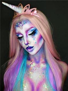 Most Jaw-Dropping Pretty Halloween Makeup Ideas Halloween make up ideas? You… Most Jaw-Dropping Pretty Halloween Makeup Ideas Halloween make up ideas? You…,Makeup art Most Jaw-Dropping Pretty Halloween Makeup Ideas Halloween make. Sugar Skull Halloween, Halloween Kostüm, Halloween Photos, Leopard Halloween, Crazy Halloween Costumes, Trendy Halloween, Halloween Inspo, Adult Costumes, Make Up Gesicht