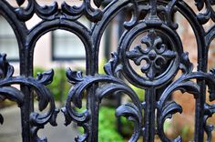 a beautiful Savannah gate