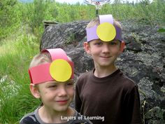 "Activities to learn about caves for kids. Talk about what you need to explore a cave. Make a spelunking ""helmet"". Then create some cave art."