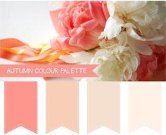 Autumn Wedding Colour Palettes