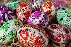 Beautiful Pysanka, Pysanky Ukrainian Easter Eggs by; UKRAINIANEASTEREGGS on Etsy