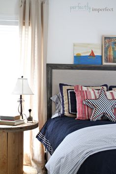 Great bed for Connor!  The Handbuilt Home by Ana White & a Project | Perfectly Imperfect Blog