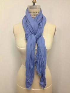 Tying a proper scarf