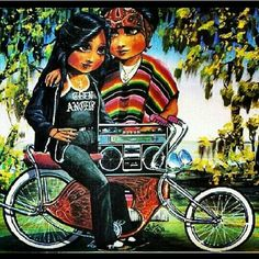 Teen Angel Artwork Cholo Chola