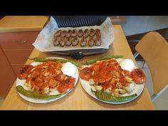 HAYATIMDA BÖYLE GÜZEL KÖFTELİ İSKENDER YEMEDİM ÇITIR ÇITIR PARMAKLARINIZI YERSİNİZ😋 - YouTube Iftar, Feel Good, Food And Drink, Mexican, Make It Yourself, Meat, Chicken, Ethnic Recipes, Tuner Cars
