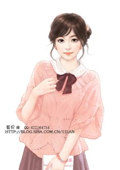 Real Style, How To Draw Hair, Beauty Art, Girl Cartoon, Chinese Art, Asian Art, Manga Art, Japanese Art, Female Art