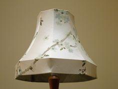 Bespoke handmade lampshade made by Kirsty Lockwood Furnishings ; www.kirstylockwood.co.uk