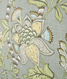 P. Kaufmann Clarice/Cir Dove Fabric - $21.65 | onlinefabricstore.net