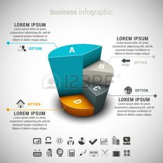 Vector illustration of business infographic made of chart. EPS10. #infographic #template #business #chart #statistics #presentation #data