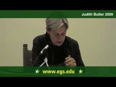 Judith Butler. Hannah Arendt, Ethics, and Responsibility. 2009 1/10 - YouTube