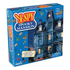 I Spy Spooky Mansion Game