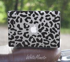 """Leopard Skin - Sticker Decal for Macbook, Macbook Pro and Macbook Air ... MAcbook Pro 15"""" and 13"""""""