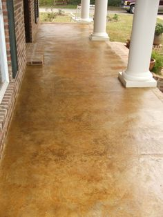 outside concrete stain pictures | ... Specialist - Architectural Concrete - Acid Stained Exterior Concrete