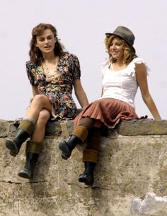 Keira Knightley & Sienna Miller in The Edge of Love