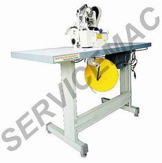 Servicemac Equipamentos Têxteis.: Maquina De Cortar Aviamentos Corte Quente E Frio M...