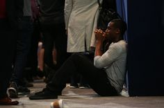 An attendee reacts while sitting on the floor during an election night party for 2016 Democratic Presidential Candidate Hillary Clinton at the Javits Center in New York, U.S., on Tuesday, Nov. 8, 2016. (Photographer: Daniel Acker/Bloomberg via Getty Images)  via @AOL_Lifestyle Read more: http://www.aol.com/article/2016/11/10/why-veterans-voted-donald-trump-swing-states/21603486/?a_dgi=aolshare_pinterest#fullscreen