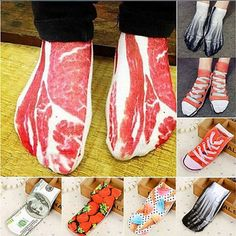 Hot Unique New Summer Cartoon Men Women Short Socks 3D Painting Art Happy Boat Socks Funny Kawaii Colorful Ankle Socks  Price: $ 3.95   #QUALITY #AWESOMEPRODUCTS #GETSOCKED