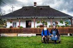 Elders from Pojorata, Bucovina,Romania Photo by Eduard Gutescu — National Geographic Your Shot Old Country Houses, Visit Romania, English House, Traditional House, Design Case, Countryside, Beautiful Homes, Gazebo, Architecture Design