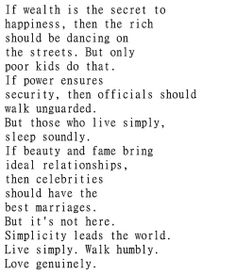 Why Simplicity is the Key to Happiness