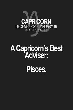 Zodiac Mind - Your source for Zodiac Facts All About Capricorn, Capricorn Quotes, Zodiac Signs Capricorn, Capricorn And Aquarius, Zodiac Mind, My Zodiac Sign, Zodiac Facts, Capricorn Relationships, Capricorn Season