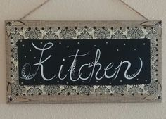 Kitchen decor kitchen sign hand painted by brilliantexpressions