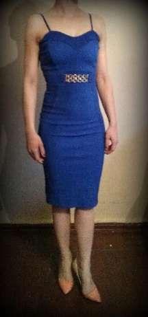 40 zł: Nowa sukienka w przepięknym kolorze kobaltowym, chabrowym. Sukienka jest…