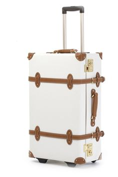 travel in style... who doesn't want gorgeous luggage? my only worry is that the white exterior will get dirty.