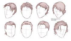 Male Hairstyles by https://www.deviantart.com/sellenin on @DeviantArt