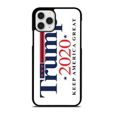 TRUMP 2020 KEEP AMERICA GREAT iPhone 11 Pro Case Cover  Vendor: Casesummer Type: iPhone 11 Pro Case Price: 14.90  This elegant TRUMP 2020 KEEP AMERICA GREAT iPhone 11 Pro Case Cover shall protect your iPhone 11 Pro phone from every bumps and scratches with dazzling style. The durable material may provide the good protection from impacts to the back sides and corners of your Apple iPhone. We create the phone cover from hard plastic or silicone rubber in black or white color. The frame profile… Great America, Iphone 11 Pro Case, Silicone Rubber, Phone Cover, Apple Iphone, How To Look Better, How Are You Feeling, Plastic, Type
