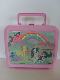 My little Pony vintage lunch box. In pretty sure I had this one!