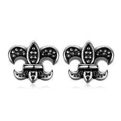 Retro Classical Geometric Version 316L Steel Stud Earrings GMYE004 #madeinchina #earrings >http://dxurl.com/RDDb