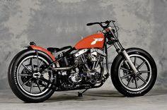 Bobber Inspiration | Shovelhead bobber motorcycle | the-ghost-darkness June 2014