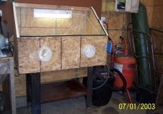 Blasting Cabinet