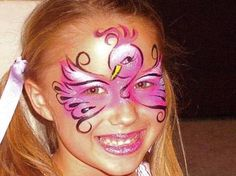 hippo face paint - Google Search